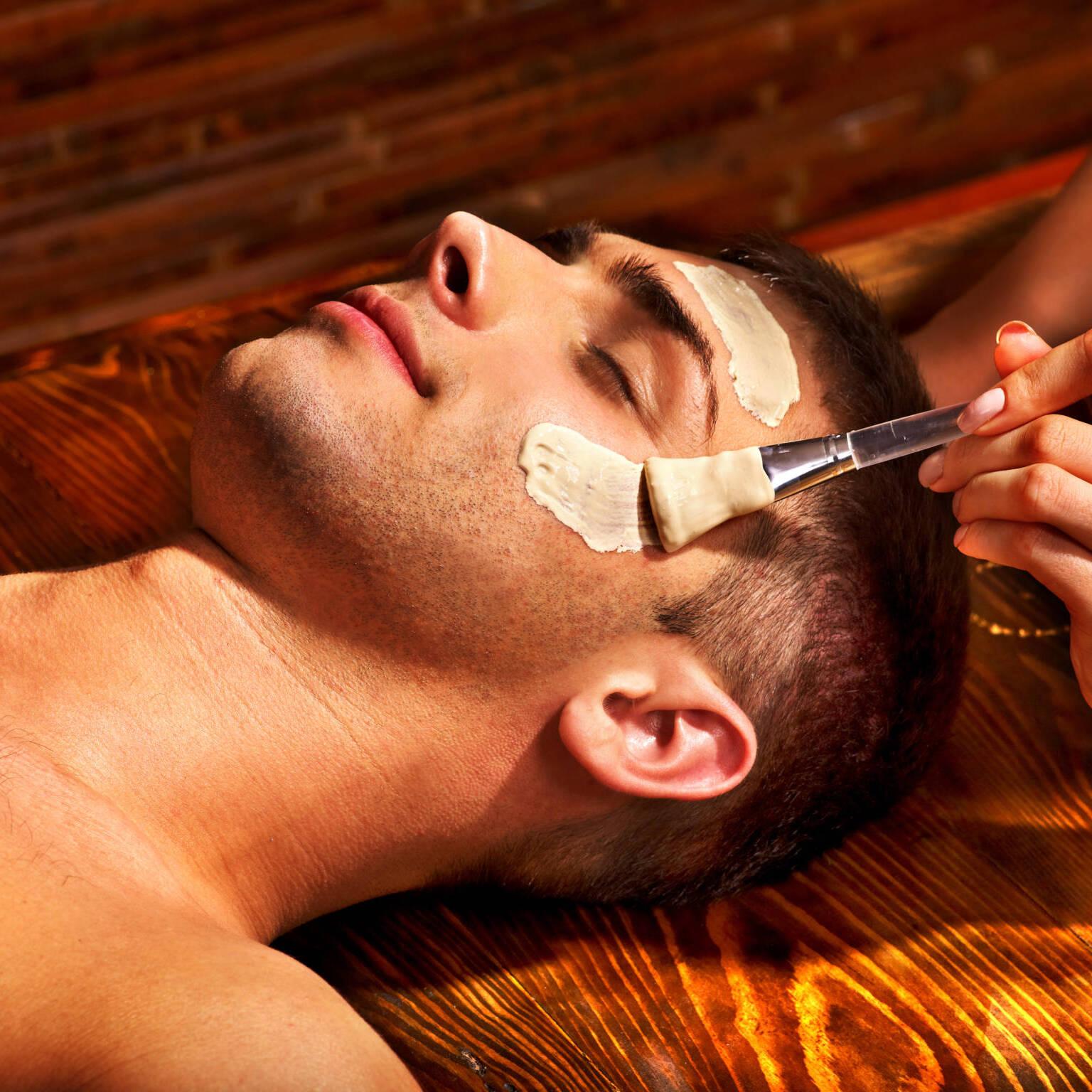Limpiezas faciales para hombres